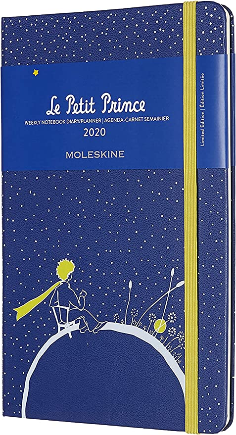Moleskine Limited Edition Petit Prince 12 Month 2020 Weekly Planner, Hard Cover, Large (5