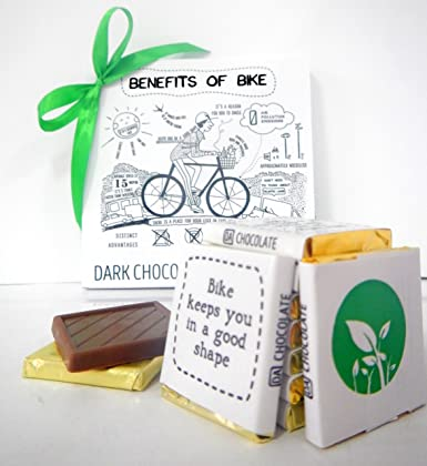 Amazon Com Unique Gift Benefits Of Bicycle Gift Food Birthday Gift Gifts Ideas Chocolate Gift Grocery Gourmet Food