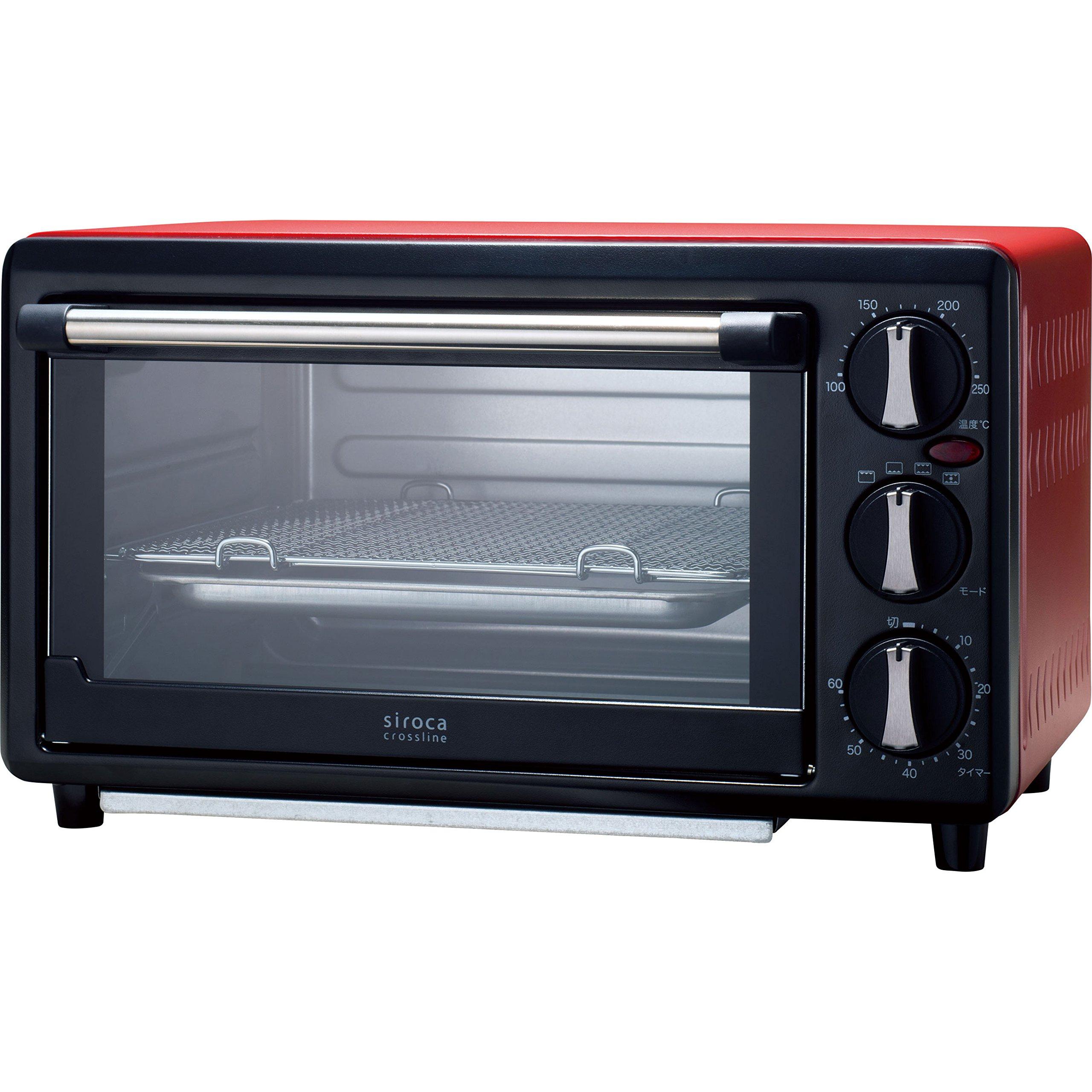 siroca ノンフライオーブン SCO-401[油無しで揚げ物調理/コンベクション/惣菜温め/レシピ付] product image