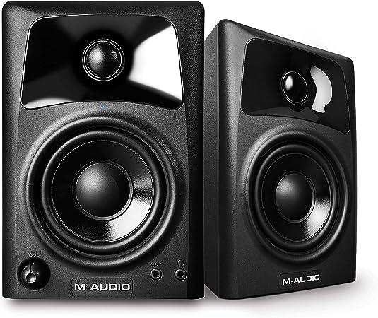 M-Audio AV32 Desktop Reference Monitor Speakers