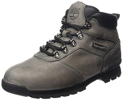 Timberland Splitrock 2 - Botas bajas para hombre, color Gris (Grey Nubuck),