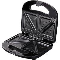 Jata SW232 Sandwichera con Recubrimiento Antiadherente, 780 W, 0 Decibeles, Acero Inoxidable, plástico, Negro