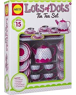 Buy Alex Toys Chasing Butterflies Ceramic Tea Set Multi Color