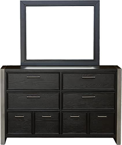 Right2Home Pulaski Graphite Drawer Dresser