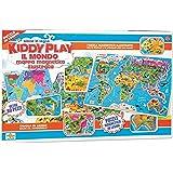 RSTA 9321 - Puzzle Mappa Magnetica Mondo, Legno