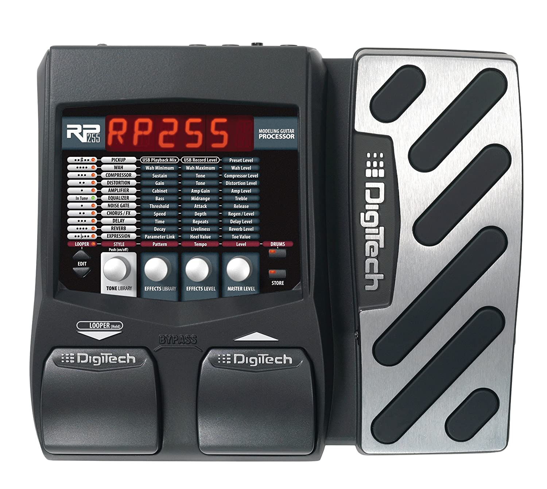 digitech rp255 modeling guitar processor musical