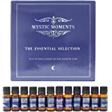 Lot de 12 huiles essentielles pures à 100 %, 10 ml - The Essential Selection par Mystic Moments