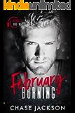 February Burning: A Firefighter Secret Baby Romance