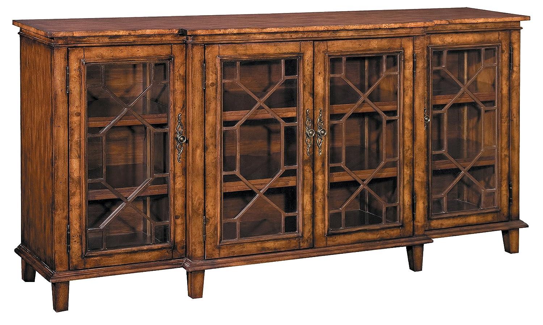 Stein World Furniture Hanover Chippendale Buffet, Rich Oak