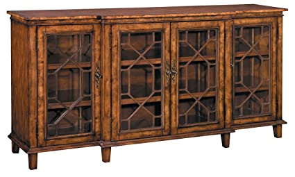 Amazon Com Stein World Furniture Hanover Chippendale Buffet Rich