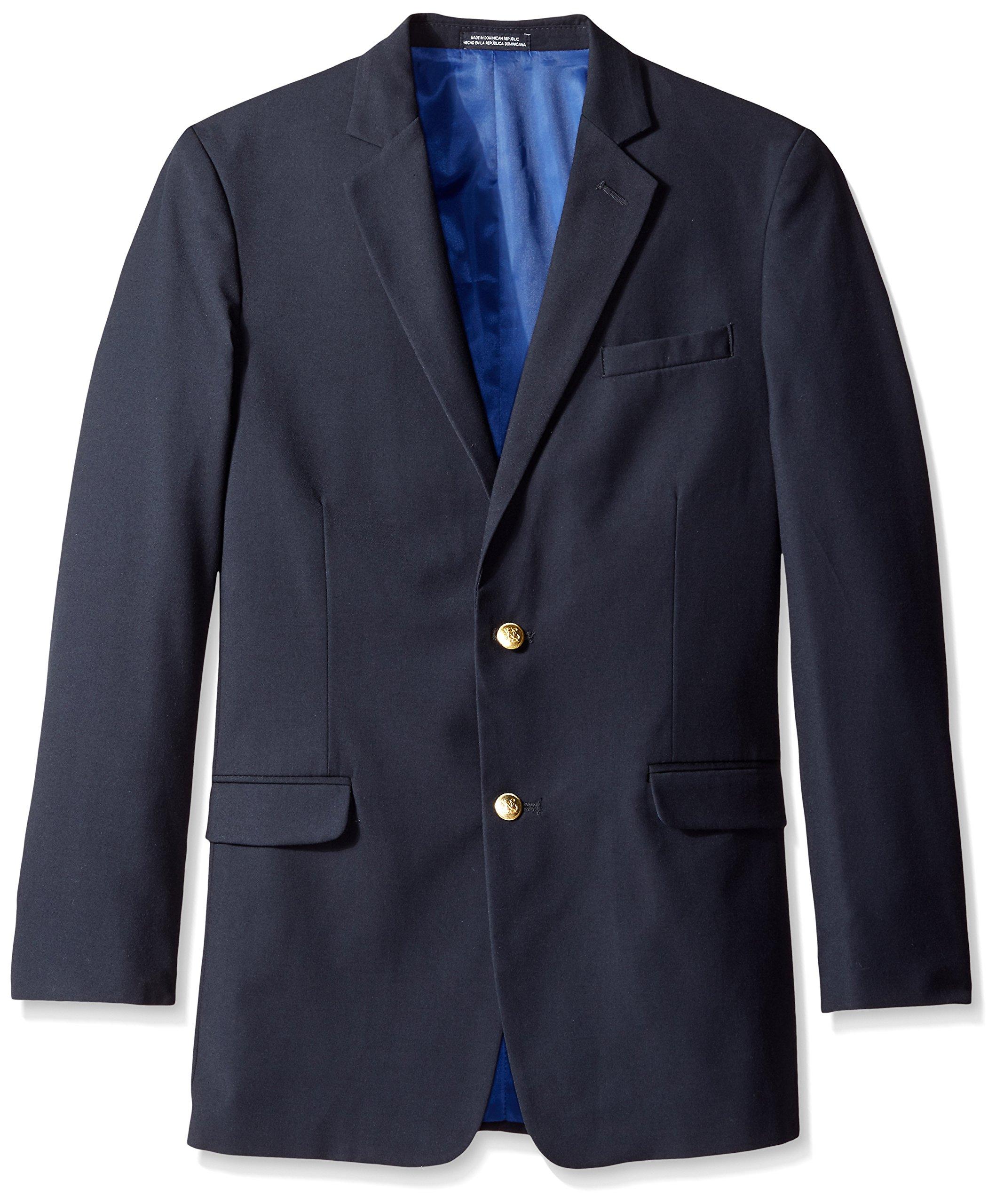 Nautica Big Boys' Navy Blazer, Dark Blue, 14