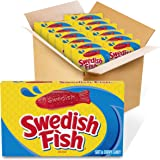 SWEDISH FISH Soft & Chewy Candy, Bulk Halloween Candy, 12 - 3.1 oz Boxes