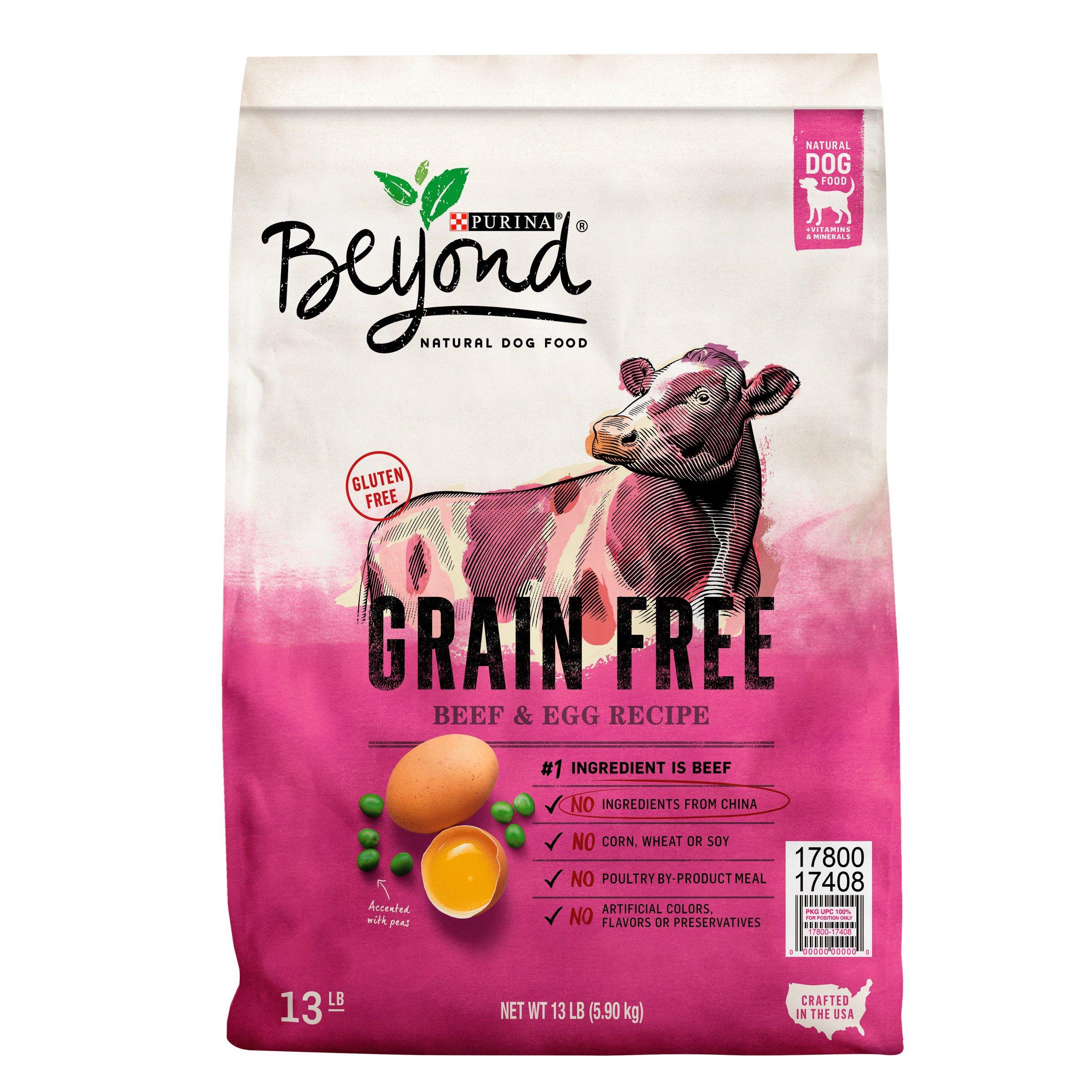 Purina Beyond Grain Free Beef Egg Recipe Adult Dry Dog Food 13 lb