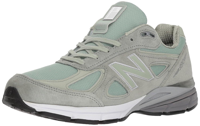 New Balance Men's 990v4 Running Shoe B0751PBQ7F 11 D(M) US|Silver Mint/Silver Mint