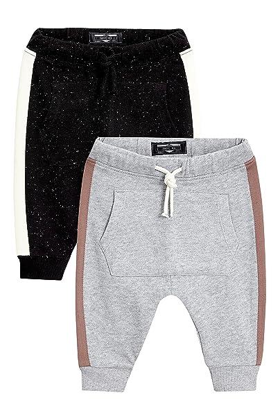 next Niños Pack De Dos Pantalones De Chándal con Rayas A Los Lados ...