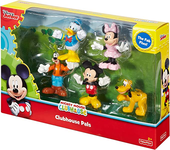 Fisher-Price - Disney Minnie Mouse - Clubhouse Pals by Fisher-Price: Amazon.es: Juguetes y juegos