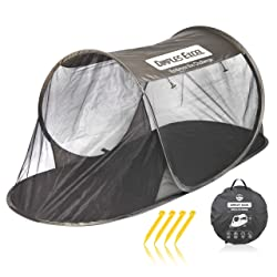 ワンタッチポップアップ蚊帳テント