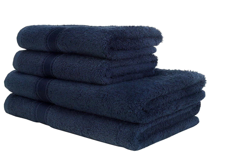 Decotex Bath Towel Mirage, Navy DECTM2NA