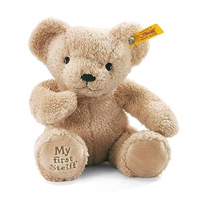 Steiff My First Teddy Bear Plush, Beige: Toys & Games