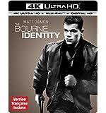 The Bourne Identity [4K Ultra HD + Blu-ray + Digital HD] (Bilingual)