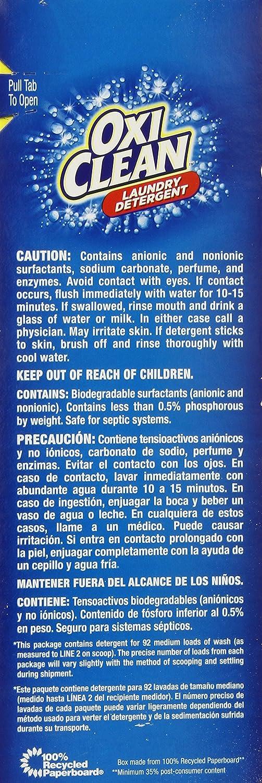Oxiclean Fresh Scent Powder Detergent, 7.60 Pound
