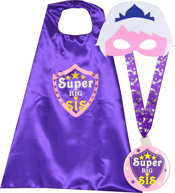 New BIG SISTER CAPE Set Big Brother Gift Ships Fast Big Sisters Are Superheroes Kids superhero cape Big Sister Gift