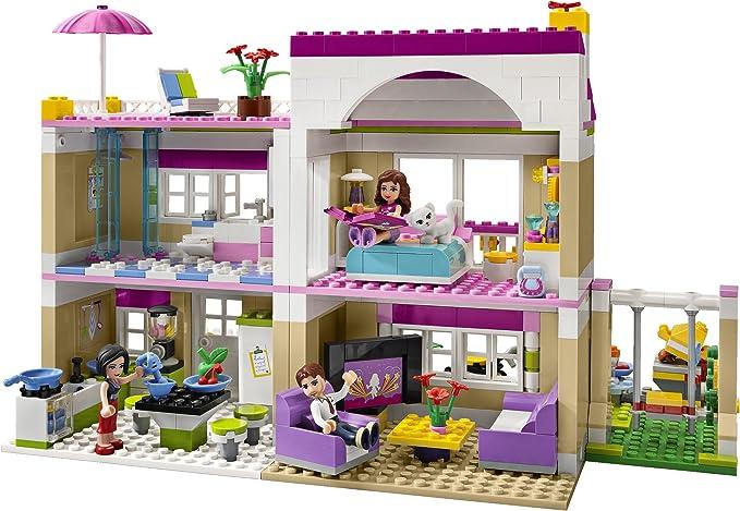 NEW Lego Minifig Dark PURPLE HAIR BRUSH Girl Friends Heart Bed Bath Room Utensil