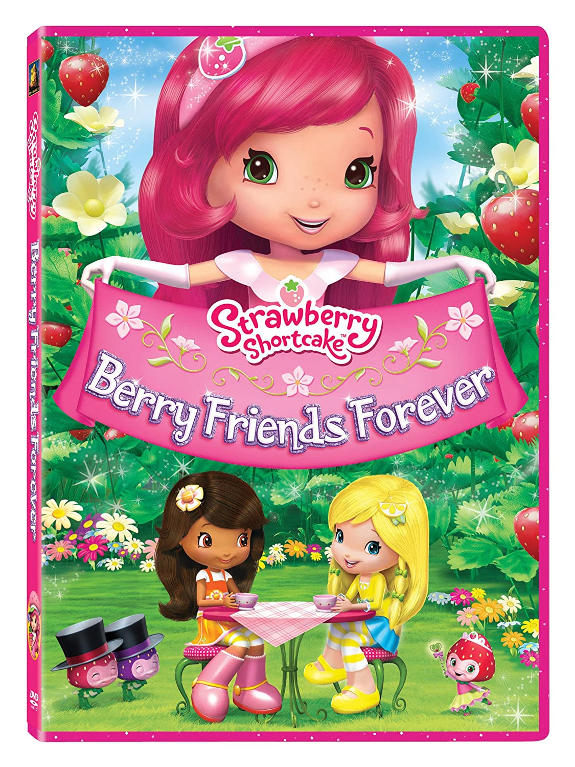Amazon Com Strawberry Shortcake Berry Friends Forever