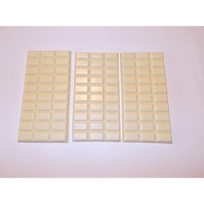 3Panneaux Chocolat Blanc, Chocolat Food Dummy en plastique–attrappen alimentaire 2ème choix pour la décoration, imitation de Scène Théâtre Requisite, décoration