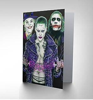 The Joker Birthday Card Amazoncouk Toys Games