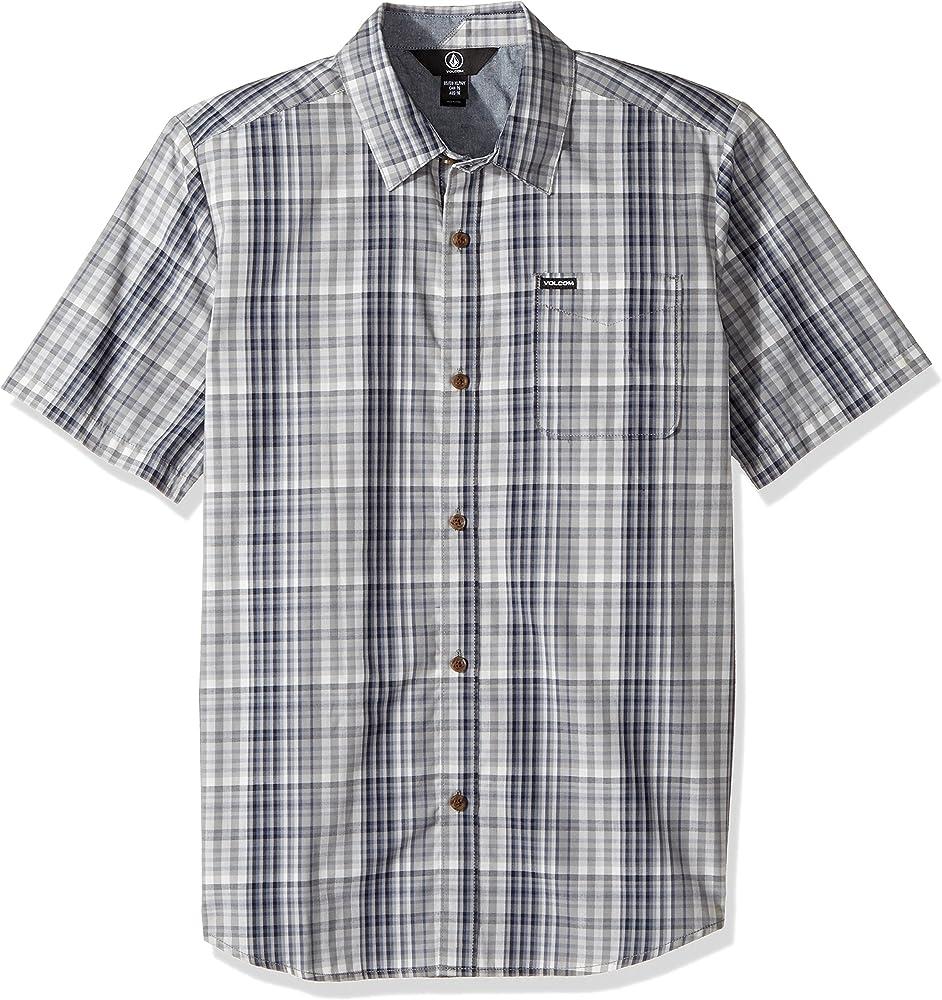 Volcom Niños C0431706 Camisa de Botones - Gris - Large: Amazon.es: Ropa y accesorios