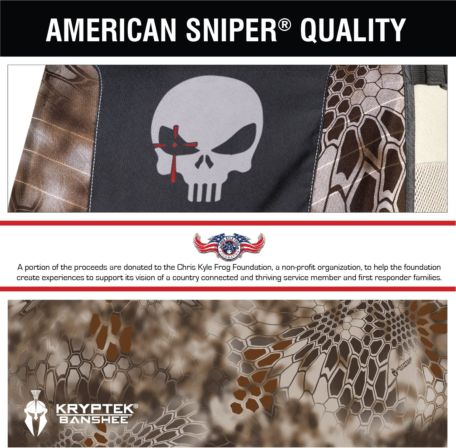 Chris Kyle Protector Low Back Seat Cover