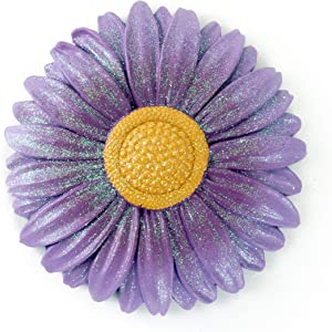 Gerson Spring Sunflower Decorative Stepping Stone (Purple)