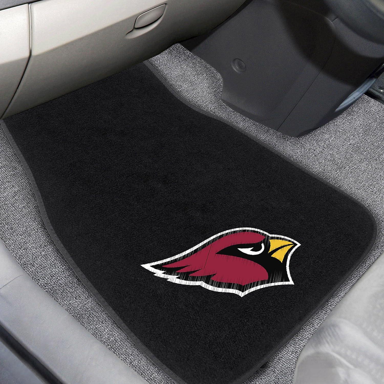 Arizona Cardinals 2-pc Embroidered Car Mats FANMATS 17129 Team Color 17x25.5 NFL