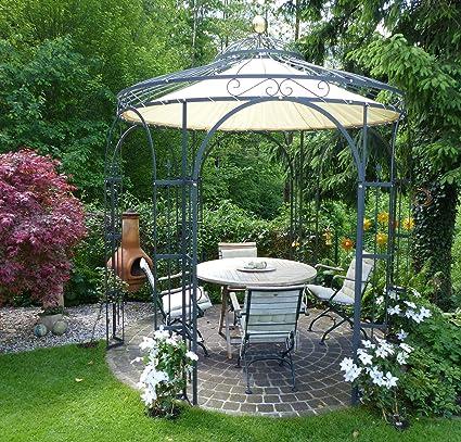 ELEO Milano - Carpa para jardín redonda y romántica, de hierro ...