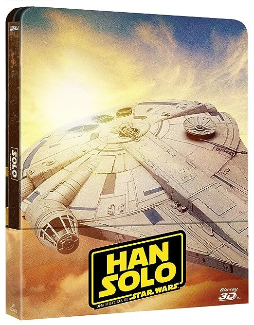STEELBOOK Han Solo Una Historia de Star Wars Blu-ray: Amazon ...