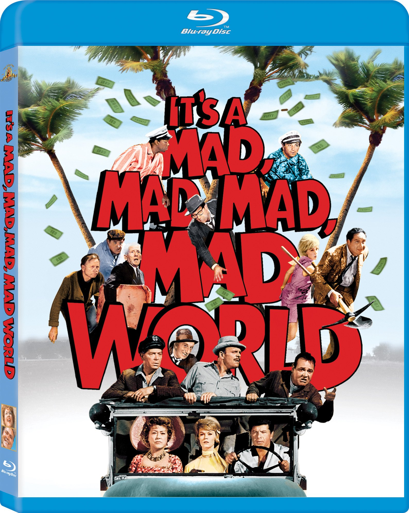 Blu-ray : It's a Mad, Mad, Mad, Mad World (Digital Theater System, AC-3, Dolby, Dubbed, )