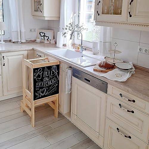 WERBUNG – Ein Lernturm verbessert die Sicherheit in der Küche