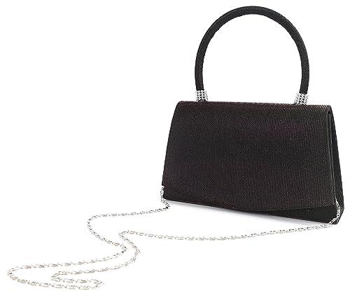 Pulama Glitter Clutch Hard Handle Handbag (Deep Green)  Handbags ... ab15a7cdfbc7b