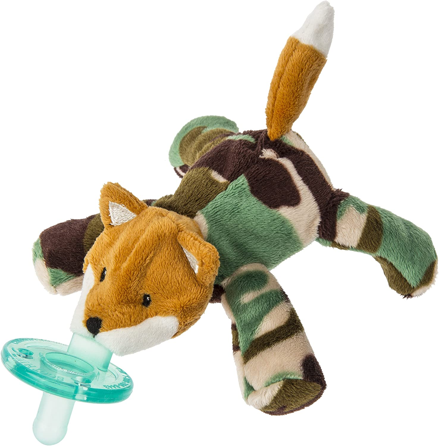 WubbaNub Infant Baby Soothie Pacifier Baby Camo Bear Brand New Authentic
