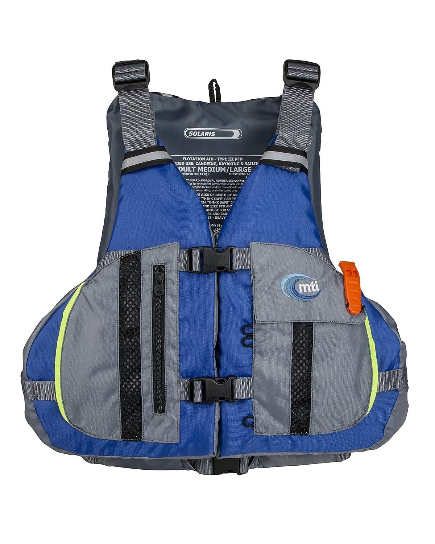 MTI Solaris Life Jacket XL//2X 46-56 Blue//Gray