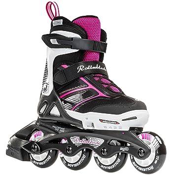Rollerblade Niñas Spitfire Jr XTG 2016 niños Skate, hombre, negro/rosa
