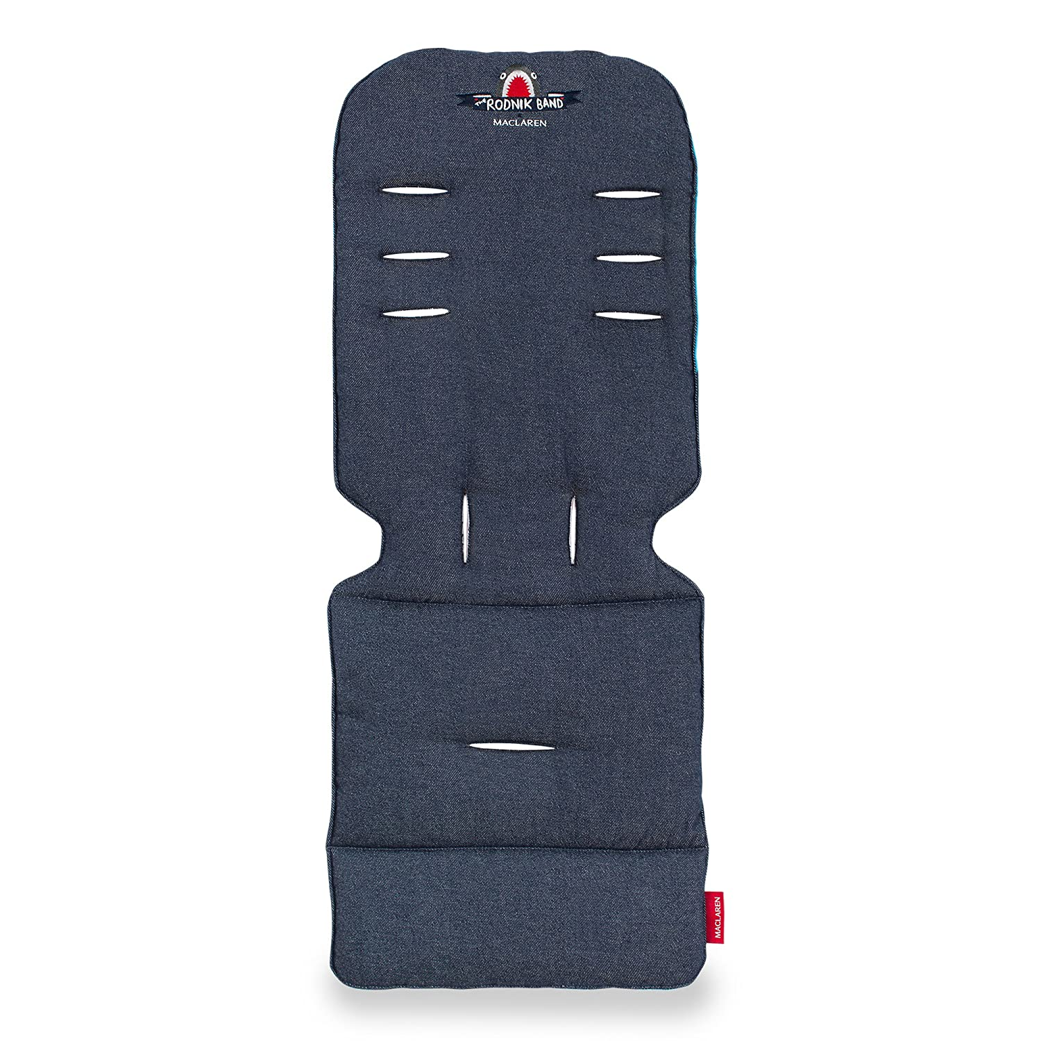 Machine Washable Maclaren Universal Seat Liner- Perfect Stroller Accessory to add Style and Comfort Two-Sided Attaches to Harness Straps of All Maclarens and All Umbrella-fold Stroller Brands