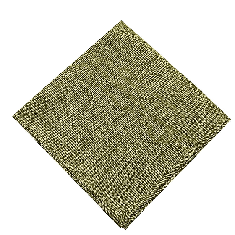 52 X 70 Oblong Gold Newbridge Penington Solid Woven No-Iron Soil Resistant Fabric Tablecloth