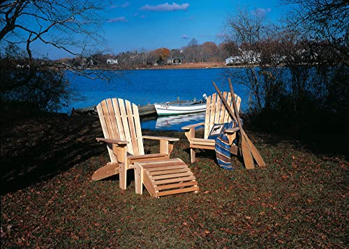 Cedarlooks 040404A Deluxe Adirondack Chair
