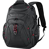 KROSER Travel Laptop Backpack 17.3 Inch XL Heavy Duty Computer Backpack with Hard Shell Saferoom RFID Pockets Water-Repellent