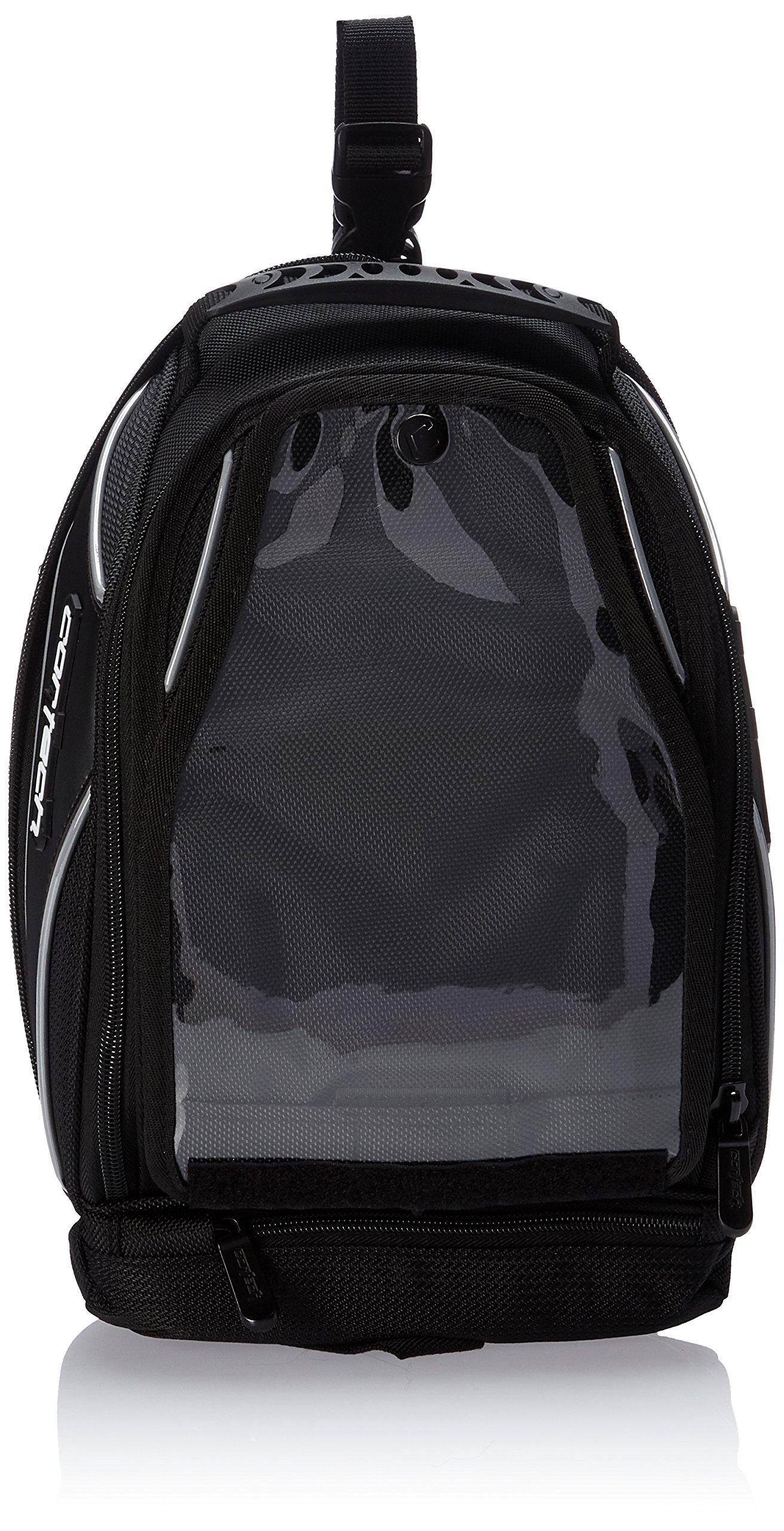 Cortech Super 8230-0605-10 2.0 Black Low Profile Motorcycle Tank Bag Strap Mount