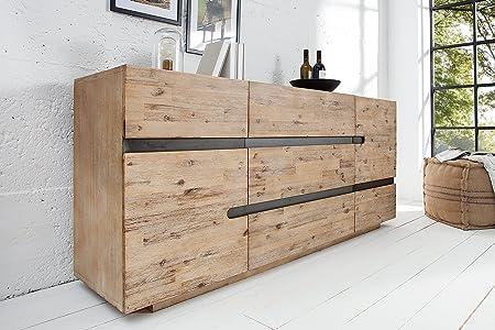 DuNord Design Aparador Bergen 170 cm Acacia Chapa de Madera ...
