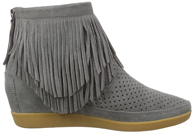 Womens Emmy Fringes Grey Hi-Top Sneakers Shoe The Bear Low Cost For Sale Shopping Online Ebay W5QOP