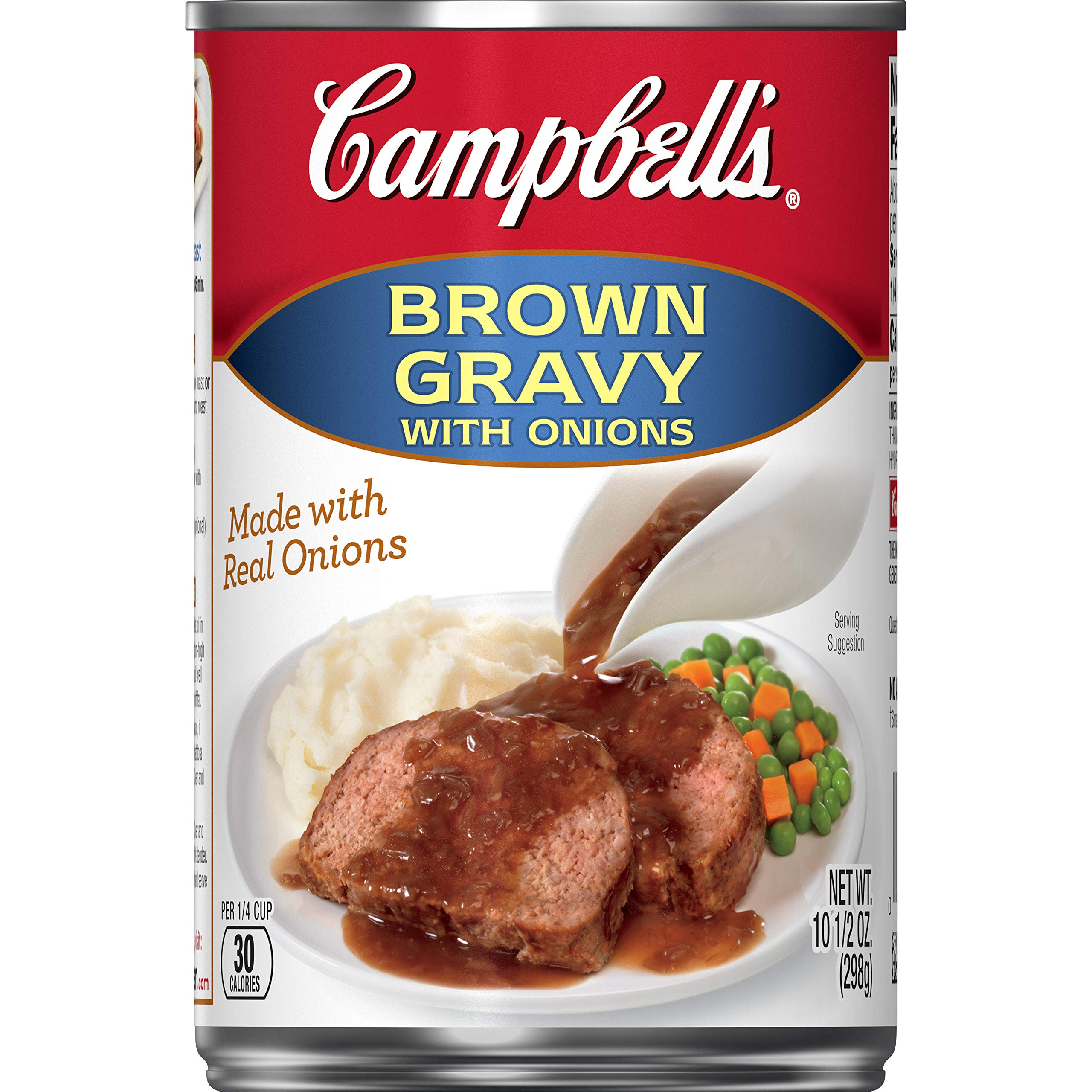 Campbell's Gravy, Brown Gravy with Onions, 10.5 oz. Can